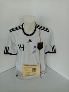 Allemagne Maillot Badstuber Signé DFB Football WM 2010 Autographe adidas L