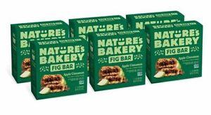 Nature's Bakery Whole Wheat Fig Bars, Apple Cinnamon, Real Fruit, Vegan, Non-GMO