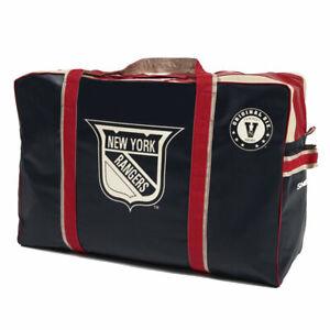 New York Rangers Original Six Vintage Logo HOCKEY EQUIPMENT BAG Inglasco. NEW