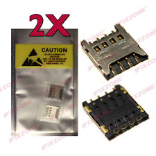 2 X New SIM Card Reader Slot Socket Connector For LG Optimus L9 P769 USA