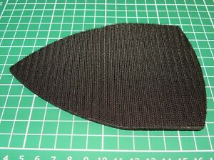 Replacement hook pad for detail sanders, with 3mm foam backing, self adhesive