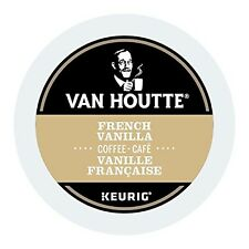 Van Houtte French Vanilla, Light Coffee, K-Cup Portion Pack for Keurig K-Cup ...