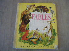 Fables - Editions Cocorico - Un Petit Livre D'Or 44 - 1952 - Occasion