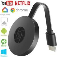 WiFi Display Dongle TV Stick Full 1080P Chromecast HDMI-Compatible Miracast DLNA