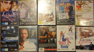 DVD Bulk Lot New sealed, Every DVD $8.00 incl post 8 Assorted Titles Choose One