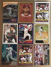 Lot of 18 Albert Pujols cards