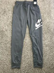 Nike Air Jordan Boys Athletic Jumpman Jogger Pants Gray 95A793 Size S L XL