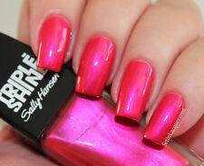 NEW! Sally Hansen Triple Shine Nail Polish in FLAME ON #220 Fuchsia Shimmer