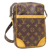 LOUIS VUITTON DANUBE CROSS BODY SHOULDER BAG SL0061 MONOGRAM M45266 AUTH A46724d