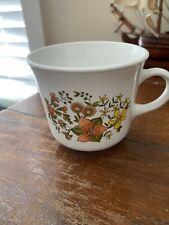 """1970s Corelle Corning """"Indian Summer""""  Coffee Mug Cup , Floral"""