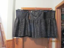 Strapless Lined Dresses GAP size 16,14,12,Black Silver Striped NWT