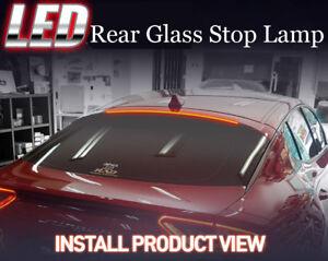 Rear Glass Roof LED Brake Stop Lamp Light Lip Spoiler For Kia Stinger 2018 2019+