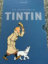 THE ADVENTURES OF TINTIN DELUXE SPECIAL EDITION BOX SET 7 BOOKS PLUS BONUS BOOK