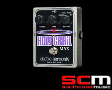 ELECTRO HARMONIX Holy Grail Max Effect Pedal Spring, Hall, Plate, Reverse reverb