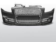 PARE CHOC, CALANDRE AUDI A4 04-08 RS STYLE CHROME BLACK PDC