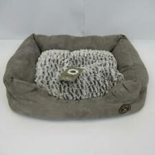 Danish Design PawPur Arctic by S Mortensen Grey Snuggle Pet Bed - Size Small 23""