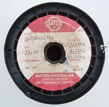 Kanthal A 0,7x0,15mm 14,3 Ω/m, Original Flach Widerstandsdraht, 3-15 Meter