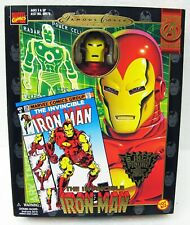 "8"" The Invincible Iron Man poseable figure Marvel Comics Toy Biz MB"