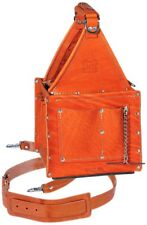 IDEAL - 35-975 Tuff-Tote Ultimate Premium Leather Tool Carrier With Strap