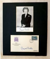More details for signed publicity photo margaret thatcher + first day cover 1975 parliamentary