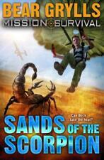 MISSION SURVIVAL: Sands of the ESCORPION Por Bear Grylls Libro De Bolsillo