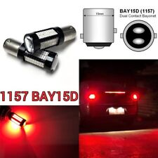 Brake Light 1157 2057 3496 7528 BAY15D 108 SMD Red LED Bulb B1 #12 For GM
