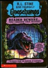 Escape from the Carnival of Horrors (Give Yourself Goosebumps) by R. L. Stine
