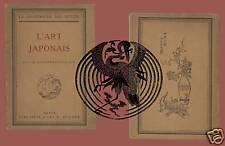 L'Arte Giapponese  Edizione francese Parigi 1926