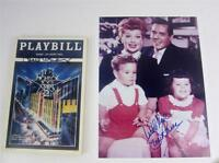 Playbill Orig Night of 100 Stars 2,1985 Lucie Arnaz Signed + Photo, COA Lucille