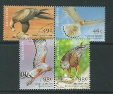 AUSTRALIA 2001 CENTENARY OF BIRDS AUSTRALIA FINE USED