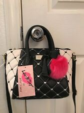 Luv Betsey Betsey Johnson Giya Crossbody Handbag Black/White NEW