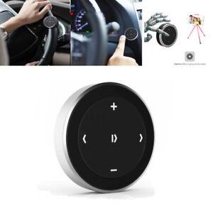 Car Steering Wheel Button Control Bluetooth 3.0 Media Audio Music Remote Button