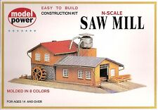 Saw Mill Model Rail Road Layout Kit N Scale 1:160 by Model Power
