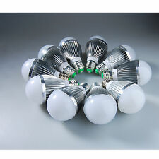 US 10 Pcs LED E27 15W 5x3w White Light High Power Energy Saving Bulb Lamp Light