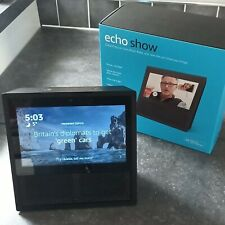 Amazon Echo Show 1st gen Black 7-inch Smart Display With Alexa