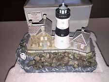 1998 Harbour Lights Execution Rock Ny #210 Signed Limited Ed. #8142 Coa in Box