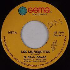 EL GRAN COMBO: Los Munequitos GEMA Guaguanco Salsa 45
