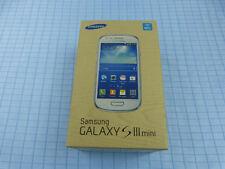 Samsung Galaxy S3 mini GT-I8200N 8GB Weiß! Gebraucht! Ohne Simlock! OVP!