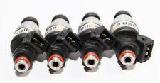 Fuel Injectors 4 Pieces fit 92-96 Honda B16 B18 B20 D16 D18 F22 H22 1000CC