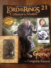 Eaglemoss. Lord Of The Rings Collectors Figure And Magazine. Grishnakh.