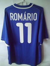 Sehr selten!!! Romario!!! 2000-02 Brasilien Away Shirt Jersey L