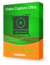 Video Capture Device Recording Software Video Tape, Web-Cam, TV Card, or VHS.