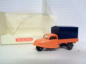 Wiking 1:87 Modellauto Sammlungsauflösung OVP Goli-Dreirad