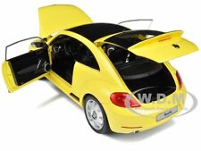 2012 VOLKSWAGEN NEW BEETLE SUN FLOWER YELLOW 1/18 BY KYOSHO 08811
