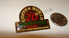 1997 PHOENIX INTERNATIONAL RACEWAY COPPER WORLD CLASSIC SKOAL BANDIT RACING PIN