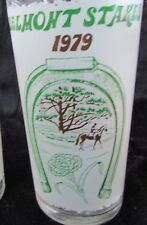 1979  BELMONT STAKES GLASS    Mint condition