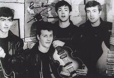 Pete Best HAND SIGNED 12x8 Photo, Autograph The Beatles Original Drummer