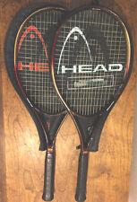 Head Constant Beam Graphite Oversize Widebody Comp Pair Of Racquets 4 5/8 3/8
