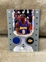 KOBE BRYANT⚡️2006 Upper Deck Ovation Apparel Jersey Patch🔥Lakers RARE