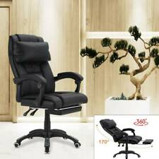 Executive Office Chair Recliner Gaming Chair Computer Leather Swivel Desk Chairs